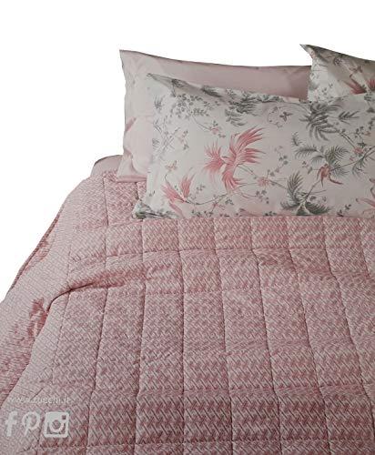 Zucchi Tagesdecke für Frühling, Doppelbett, Baumwolle, Fizzy, 260 x 260 cm, Blau