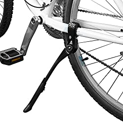 top rated BV Bike Kickstand-Aluminum Height Adjustable Rear Bike Stand for Mountains … 2021