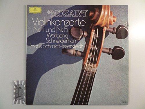 Mozart: Violinkonzerte Nr. 4 und Nr. 5 [Vinyl, LP, 2538 094].