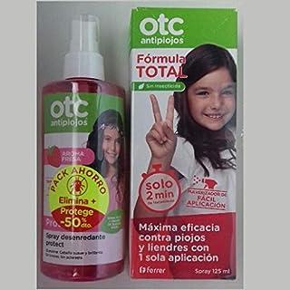 OTC PACK ANTIPIOJOS FORMULA TOTAL + SPRAY DESENREDANTE FRESA