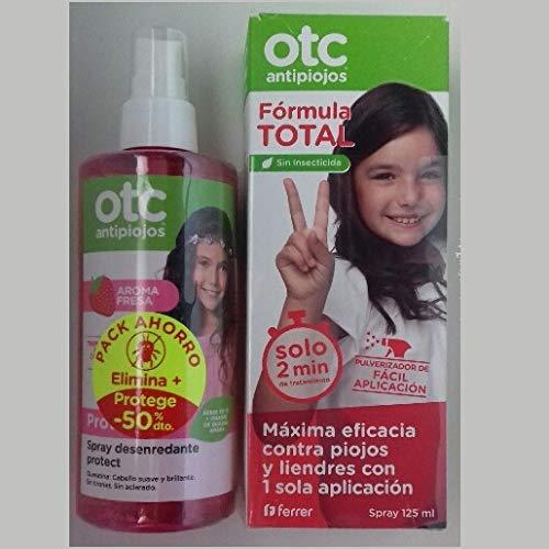 OTC PACK FORMULA TOTAL + SPRAY DESENREDANTE FRESA