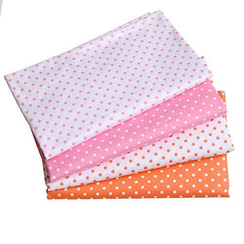 MAGFYLY Telas para coser 1,6 metros de ancho, tela de algodón de dibujos animados, tela suave para coser, hoja de cama (color: blanco1)