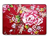 GangdaoCase Carcasa rígida de plástico ultra delgada para MacBook Pro de 15 pulgadas con Touch Bar/Touch ID A1707/A1990 (Flower 62)