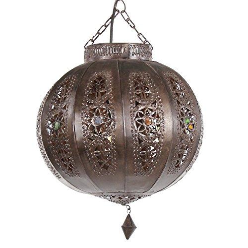 albena Marokko Galerie 13-166 Yali Lampenschirm Orientalische Lampe 26cm braun