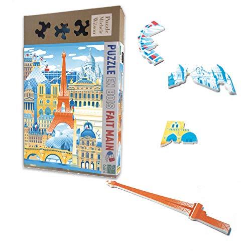 Puzzle Michele Wilson - Puzzle 50 Pièces Paris en Folie - Multicolore