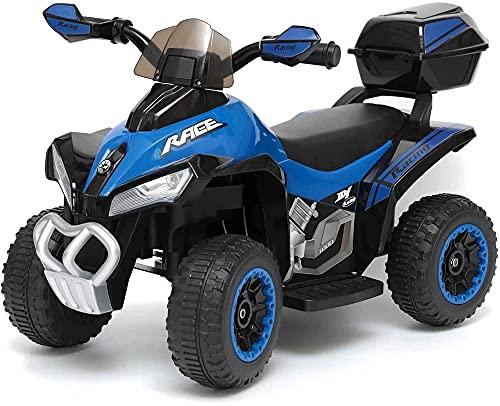 Quad Moto Elettrico Per Bambini Mini Quad Deluxe...