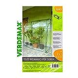 Verdemax 2645 - Telo Ricambio per Serra da L200 X P 100 X H 215 Cm