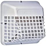 1 - UBGWL Universal Bird Guard, Prevents birds from nesting in duct, Fits any 3' or 4' exterior exhaust hood, UBGWL-A