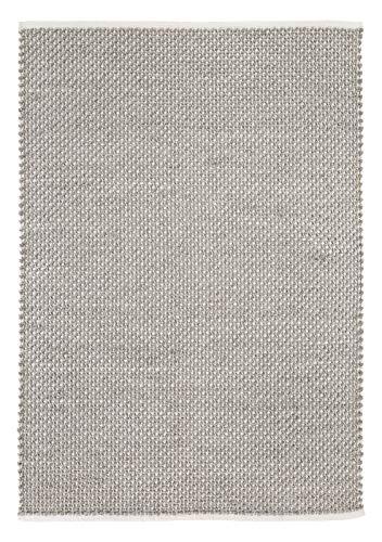 Luxor Living Teppich Skive Hygge-Stil Webteppich Baumwolle & Wolle Pastellfarben, Farbe:Taupe,...