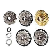 1pcs Bike Kassette 8 9 10 11 12 Drehzahl MTB Fahrradfreilauf Pure Steel 32 36 40 42 46 50 52T Cassette Flywheel Mountain Bike Kettenblätter (Color : 8 Speed 11 32T)
