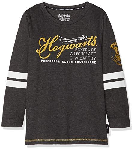 Camiseta de Harry Potter para niños Los aprendices de mago formarán parte del Ejército de Dumbledore con mucho estilo gracias a esta camisa encantada! Tiene estampados iconos de 'Harry Potter', 'Hogwarts' y el escudo de Gryffindor en la manga en colo...