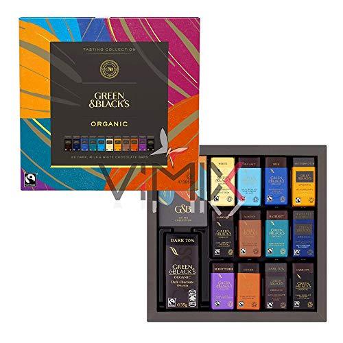 New Brand Green & Blacks Organic Tasting Collection Boxed Chocolates 395 g