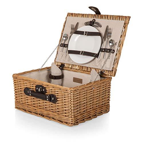 PICNIC TIME 206-40-187-000-0 Klassische Picknickkörbe, Leinen, Beige