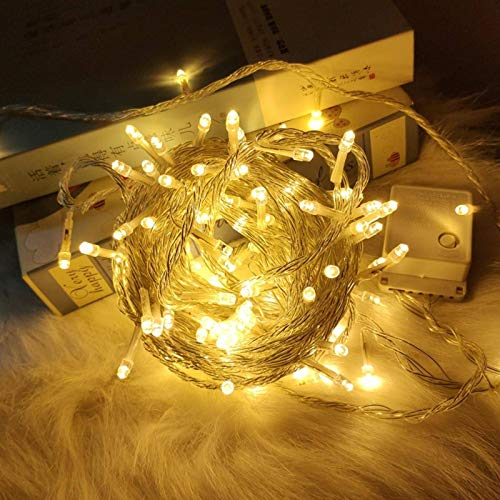 N-brand Christmas Waterproof Indoor and Outdoor Led Lights String of Stars Flashing Lights Holiday Wedding Decoration Lights Mall Outdoor String Lights
