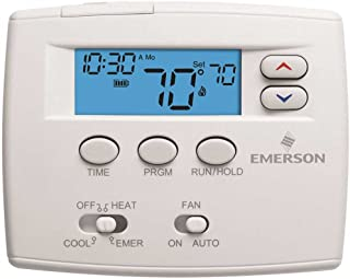 White Rodgers 1F82-0261 Programmable Digital Thermostat, 2