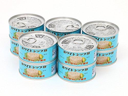 由比缶詰所 特選まぐろ油漬(綿実油)フレークEOヒラ3号缶(90g)×10缶セット