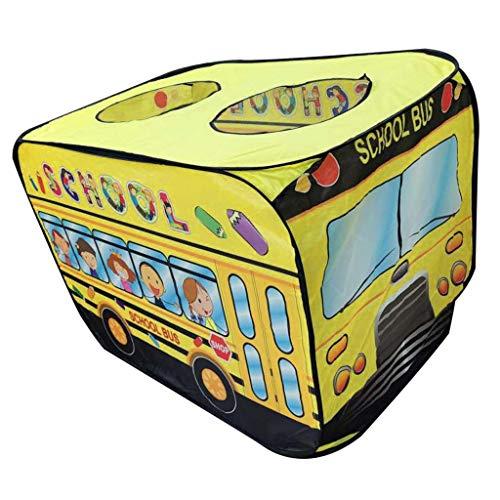 sharprepublic Play Tent House Creative Up Truck Lawn Beach Party Playground Toys - School Bus, 112x72x72cm