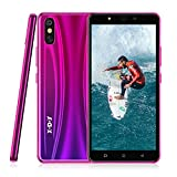 Xgody S20 Lite Unlocked Smartphone, Dual Sim Unlocked Phone with 2800mAh Battery,5MP Beauty Cameras + 8GB ROM (Purple)