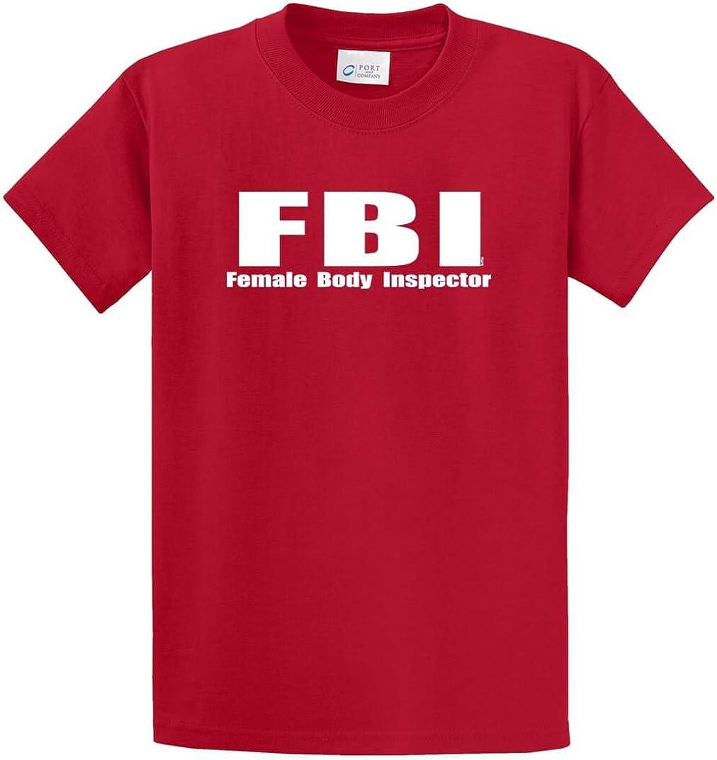 F.B.I. (Female Body Inspector) Printed Tee Shirt