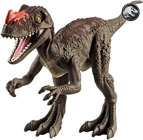 Mattel FVJ93 Jurassic World Protoceratosauro Dinosauro del Film, Multicolore