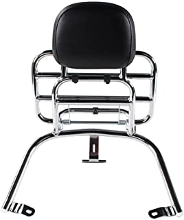 Prima Rear Rack (Backrest,Chome); Vespa LX50 and 150