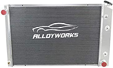 ALLOYWORKS 3 Row All Aluminum Radiator for 1973-1991 Chevy GMC C/K Series Pickup Trucks Blazer Jimmy Engine Cooling Parts (A)