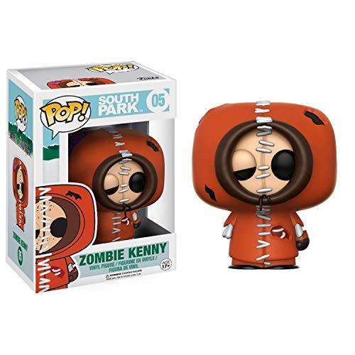 Funko 12305–South Park, Pop Vinyl Figur 05Zombie Kenny