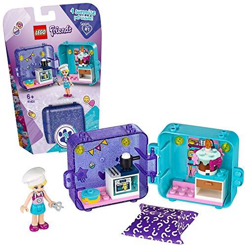 LEGO Friends - Cubo de Juegos de Stephanie, Caja de Juguete con Accesorios y Mini Muñeca de Stephanie, Set Recomendado a Partir de 6 Años (41401)