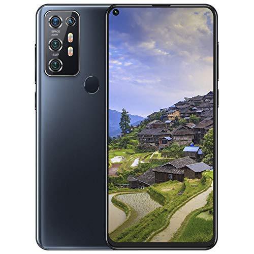 Unlocked Smartphone, 7.2In HD+ Display 12+512GB 5000Mah Battery Android 10 Smart Phone Face Id+Fingerprint Dual SIM Quad Camera Smartphone Unlocked Cell Phone Gps, Bluetooth, Wifi(UK)