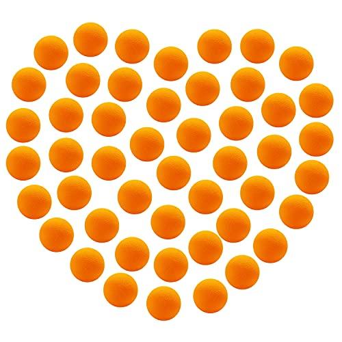 48 Pieces Power Popper Refill Balls Soft Foam Balls Approx 1.2 Inch in Diameter, Foam Balls for...