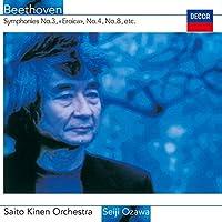 Beethoven: Symphonies No. 3 No. 4 by Seiji Ozawa (2015-01-14)