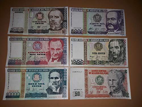 Prophila Collection Todas Mundo 25 Diferentes Billetes (Billetes para los coleccionistas)
