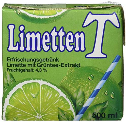 Eistee Eistee Limette, 12er Pack (12 x 500 ml)