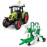 GizmoVine Trattore Giocattolo Regali di Raccolta di Trattori Giochi Neonati Agricoli per Bambini Ragazzi