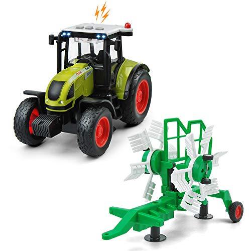 GizmoVine Tractor Juguete Coche de Juguete Coche de Friccion