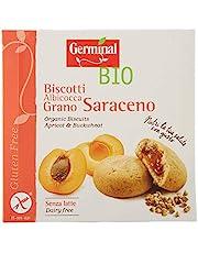 Germinal Bio Biscotti Farciti Albicocca Grano Saraceno - [200 gr], Senza glutine