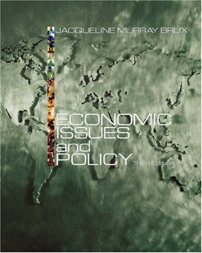 Economic Issues and Policy with Economic Applications