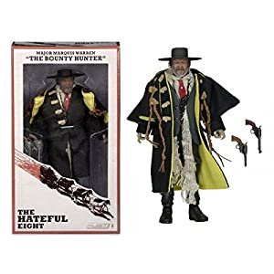 The Hateful Eight Major Marquis Warren The Bounty Hunter Samuel L. Jackson 8 Action Figure by Reel Toys 5