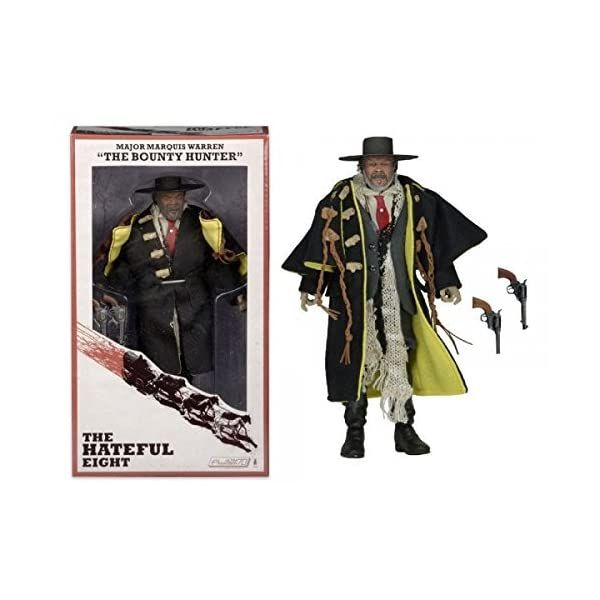 The Hateful Eight Major Marquis Warren The Bounty Hunter Samuel L. Jackson 8 Action Figure by Reel Toys 1