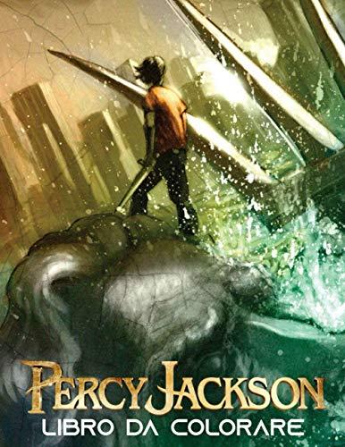Percy Jackson Libro da Colorare: Libro da colorare special e per bambini...