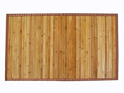 AVANTI TRENDSTORE - Dana - Tappeto in Bamboo, colore legno, disponibile in diverse misure (70x140 cm)