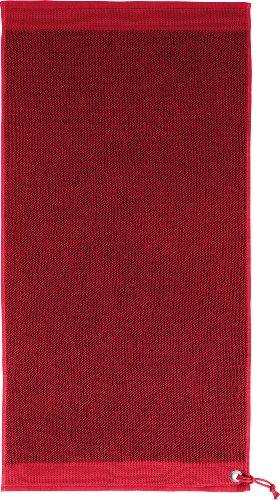 Dyckhoff Serviettes d'invité Rouge 30 x 50 cm