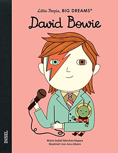 David Bowie: Little People, Big Dreams. Deutsche Ausgabe
