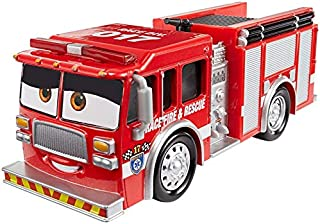 Pixar Cars McQueen Movies Toys Cars 3 Race Fire Rescue Tiny Lugsworth Diecast Toy Car 1:55 Loose Kids Baby Toys McQueen Cars