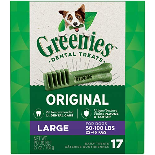 GREENIES Original Large Dog Natural Dental Treats...