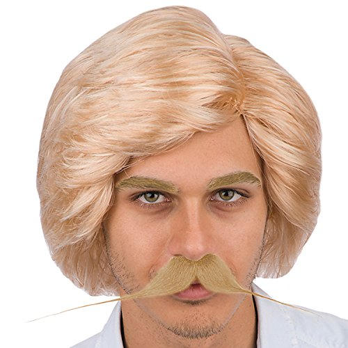 70s Pop Star Men's Wig without Beard