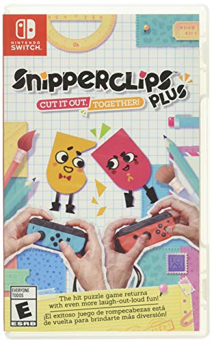 Snipperclips Plus: Cut it out, Together! - Nintendo Switch