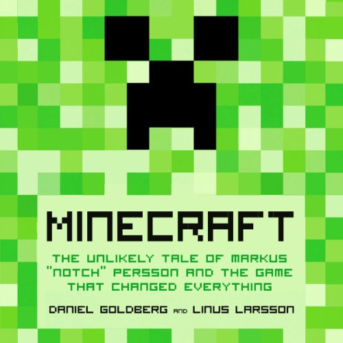 Minecraft audiobook cover art