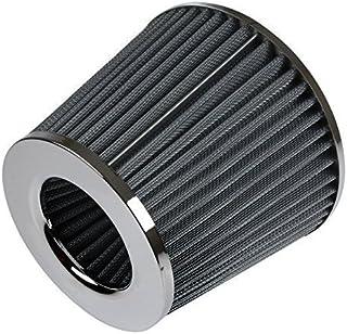 Universal Hochleistungs  Auto Luftfilter Induktions Satz Sportwagen Kegel Luftfilter Chrom Ausführung