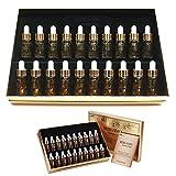 Bergamo / Luxury Gold Collagen & Caviar Wrinkle Care Repair Ampoule Set 13ml 20ea /Korean Cosmetics